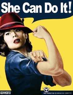 Agent Peggy Carter - She Can Do It!