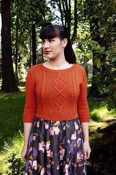 I haven't been able to stop thinking about this sweater.  It might need to jump to the top of my queue.  (Ravelry: Chuck pattern by Andi Satterlund)