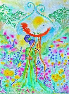De Intuïtieve Kunst van Rika Dehombreux: maart 2015