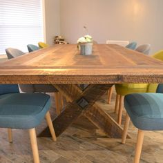 4' x 8'-10' Expandable Dining Table