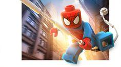 Lego Spiderman - Lego Marvel Super Heroes Teaser Ads by Albert Co, via Behance Lego Spiderman, Lego Marvel's Avengers, Batman, Amazing Spiderman, Marvel Super Heroes Game, Marvel Heroes, Univers Marvel, Age Of Ultron, Marvel Dc