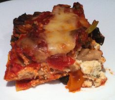 Chaos and the Kitchen: Roasted Vegetable Lasagna
