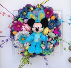 Mickey Mouse Easter Wreath
