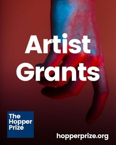 Grants for Artists | The Hopper Prize Artist Grants, Grant Writing, Arts And Crafts Furniture, Art Web, Call For Entry, Sell My Art, Call Art, Art Competitions, Do It Yourself Crafts