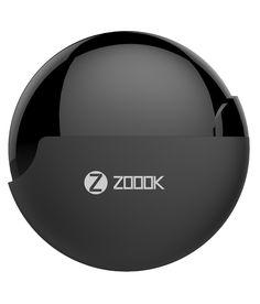 Zoook Rocker RDX In Ear Wearable Earphones with Mic (Black) Wearable Technology, Bluetooth Speakers, Plugs, Sunglasses Case, Product Launch, Black, Corks, Black People