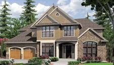 Bradner House Plan - 4026 sq ft, 4 BR and 3.5 BA