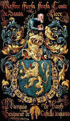 Armorial plates from the Order of the Golden Fleece - Lukas de Heere - Sint Baafskathedraal Gent Medieval, Plantagenet, Chivalry, Family Crest, Banner, European History, Crests, Illuminated Manuscript, Coat Of Arms