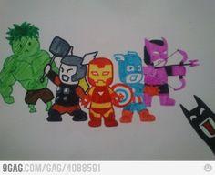 [ The Avengers + Batman ]                            ?