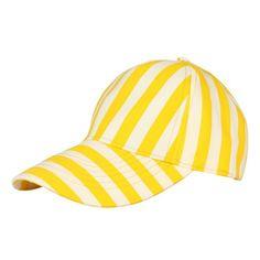 Striped Cap Yellow €23,70