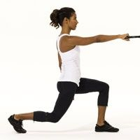Rachel Cosgroves Total-Body Workout - Back Row, Deep Step Ups, Split Stance Alternate Rows, Weighted One-leg Squats, Push Up to One Leg Lift, Crescent. via womens health magazine fit