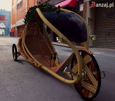 I'd ride it. It's a seated bicycle. With style