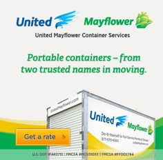 United Mayflower Container Services: Moving Made Easy #Give2theTroops #Milfam #Travelin4Coffee #spon