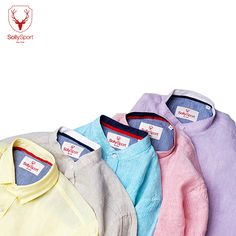 Comfortable coloured linen wear to help you 'ace' the style points every time! Which one are you buying this season?