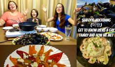 SEAFOOD MUCKBANG (먹방) - Get To Know Us As A Gay Family And How We Met