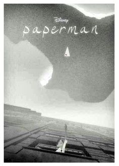 """Paperman is a 2012 black-and-white animated short film produced by Walt Disney Animation Studios. The short blends traditional animation and computer animation using a technique called """"final line advection"""". Disney Pixar, Paperman Disney, Disney And Dreamworks, Disney Art, Disney Wiki, Disney Actual, Disney Love, Disney Magic, Disney Stuff"""