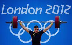 Andrés Eduardo Mata / Halterofilia (-77 kg) / Diploma Olímpico (6º puesto)