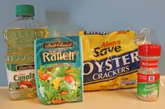 Oyster Cracker Snack Mix Ingredients