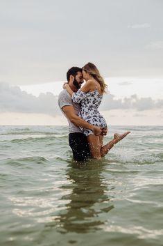 Couples Beach Photography, Photography Poses, Black Love Couples, Cute Couples, Jacksonville Beach Florida, Beach Poses, Beach Shoot, Beach Engagement Photos, Artsy Photos