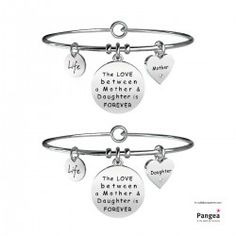 MAMMA - FIGLIA / FOREVER bracciale Love