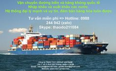 ☀☀ International Freight - Ocean Freight & Air Freight for Import and Export in the world ☀☀ HOT LINE: 0988.244.942 (VIBER, ZALO, WECHAT, WHATSAPP) – SKYPE: thaodo211084 ➡ Email: tracydo@thi-group.com – jenifer.thao@gmail.com  Our Services: ⚠  Sea and air freight import/export customs clearance. ⚠ Bonded area customs clearance and filing for re-import/re-export. ⚠ Worldwide transport routes (import & export transport, customs clearance, inspection, combined land ...) ⚠ LCL & FCL services…