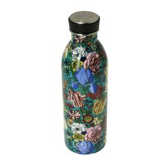 Botella de acero inoxidable ligera de 500 ml con cierre de rosca hermético. Museum Shop, Water Bottle, Vase, Dishwasher, Bottles, Stainless Steel Bottle, Cushion Covers, Shells, Home Decor