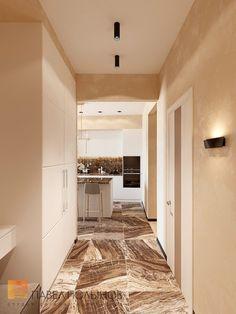 Фото интерьер холла из проекта «Дизайн проект 1-комнатной квартиры 70 кв.м. в ЖК «Риверсайд», современный стиль»