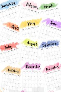 2017 Calendars: FREE Printables - Simply September