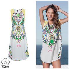Compre moda com conteúdo, www.oqvestir.com.br #Fashion #FARM #Flowers #Pretty #Summer #Colors #Dresses #Looks #Shop