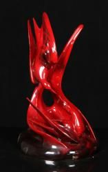 """ROYAL DOULTON, """"IMAGES OF FIRE"""" 20th C. Modern Design and Fine Art Auction 
