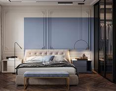 "DE&DE/Beauty salon ""Tricky mechanics"" on Behance Apartment Interior, Home Interior, Interior Design, Design Room, Living Area, Living Room, 3d Texture, Behance, Modern Bedroom"