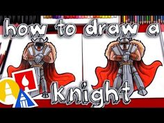 cool How To Draw A Knight