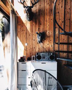 cabin goals ✨ . . . #cabinporn #cabin #domek #goals #interior #interiors #wnętrze #wnętrza #moderninterior #interiorgoals #modern #wall…