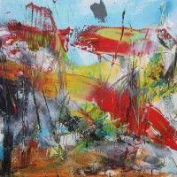 Abstract Painting by Abstract Artist Jan van Oort Creative Artwork, Artist Gallery, Paint Splatter, Pablo Picasso, Sangria, Abstract Art, Van, Watercolor, Drawings