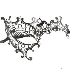 Phantom of the Opera Inspired Lady Venetian Halloween Masquerade Party Laser Cut Mask