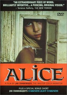 Alice Dir: jan Svankmajer 1988