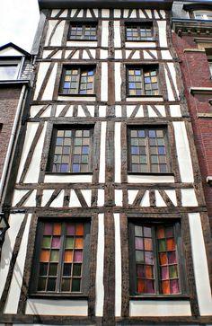 Rouen, France by Grangeburn
