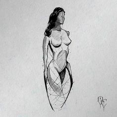 #sketch #sketching #sketchtattoo #noface #characterdesign #character #woman #humanoid #trashtattoo #scl #chile