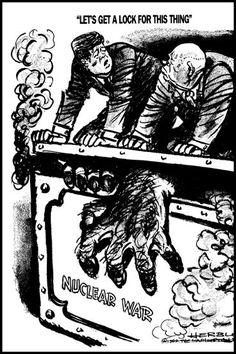 De Koude Oorlog had ook een Cubacrisis. Dat was de dreiging van de Sovjet-Unie tegen de VS. Ze dreigden met een atoomoorlog.