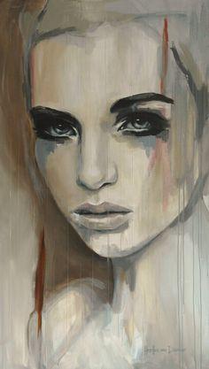 Saatchi Online Artist: Hesther Van Doornum; Acrylic, 2013, Painting Gentle (sold)