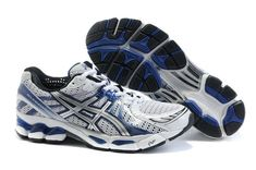 info for fd31a 1605c ASICS GEL KAYANO 17 Mens Running Shoes White Blue  onitsukatiger Asics Shoes,  Nike Shoes