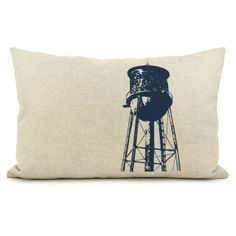 Industrial home Decorative pillow cover Modern by ClassicByNature, $34.00