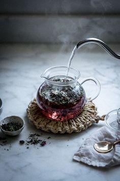 Local Milk | herbalism for pregnancy + moon mother elixir: ginger kombucha + rose + hibiscus herbal infusion