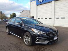 2017 Hyundai Sonata Sport 2 0t W Black Sedan Accent Cars