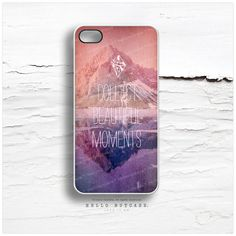 iPhone 5 Case Mountain iPhone 5s Case Quote iPhone by HelloNutcase, $19.00