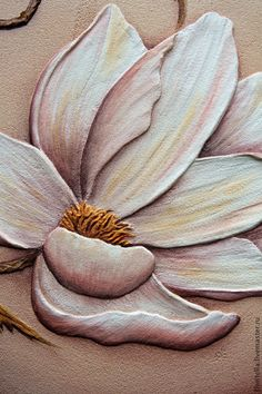 Ahora Plaster Sculpture, Plaster Art, Sculpture Painting, Wall Sculptures, Flowers Draw, Texture Painting On Canvas, Glue Art, Clay Art Projects, Flamingo Party