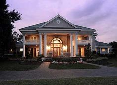 Southern Influenced Plantation Estate - 66231WE   Plantation, Southern, Traditional, Luxury, Photo Gallery, Premium Collection, 1st Floor Master Suite, Butler Walk-in Pantry, CAD Available, Loft, MBR Sitting Area, Multi Stairs to 2nd Floor, PDF, Corner Lot   Architectural Designs