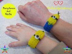 Minion Bracelet  New Style Minion Party by MrPeabodysCustomary, $4.69