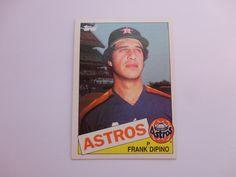 Frank Dipino 1985 Topps Baseball Card