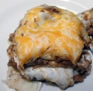 Creamy Burrito Casserole...A Mexican dish featured for Foreign Friday!