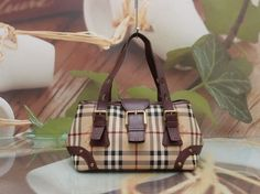 AUTHENTIC BURBERRY NOVA CHECK CLASSIC LUXURY TOTE BAG #Burberry #TotesShoppers